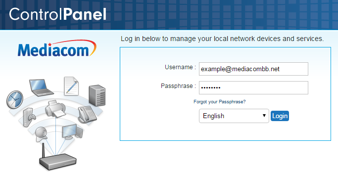 Mediacom Router Login Guide: Default Username and Password | Web Menza